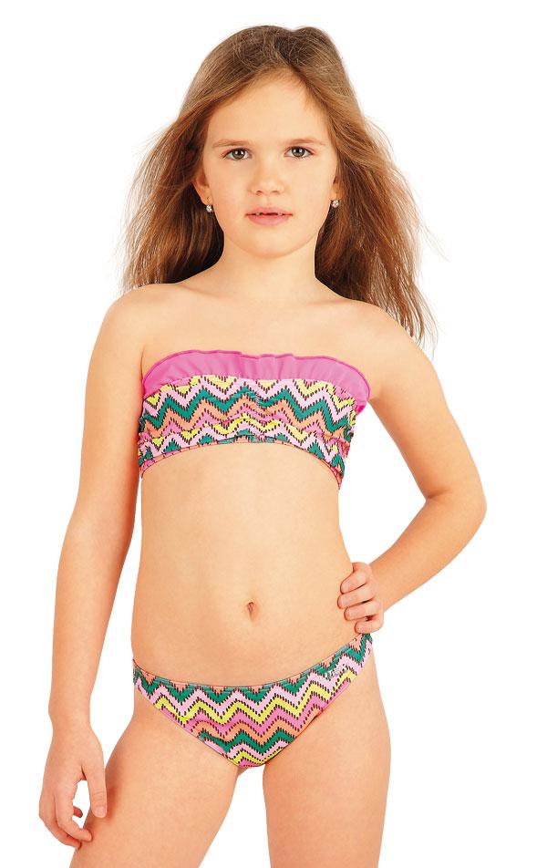 Dievčenská plavková podprsenka BANDEAU. 52572   Dievčenské plavky LITEX