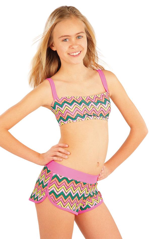 Plavkový top dievčenský. 52574 | Dievčenské plavky LITEX