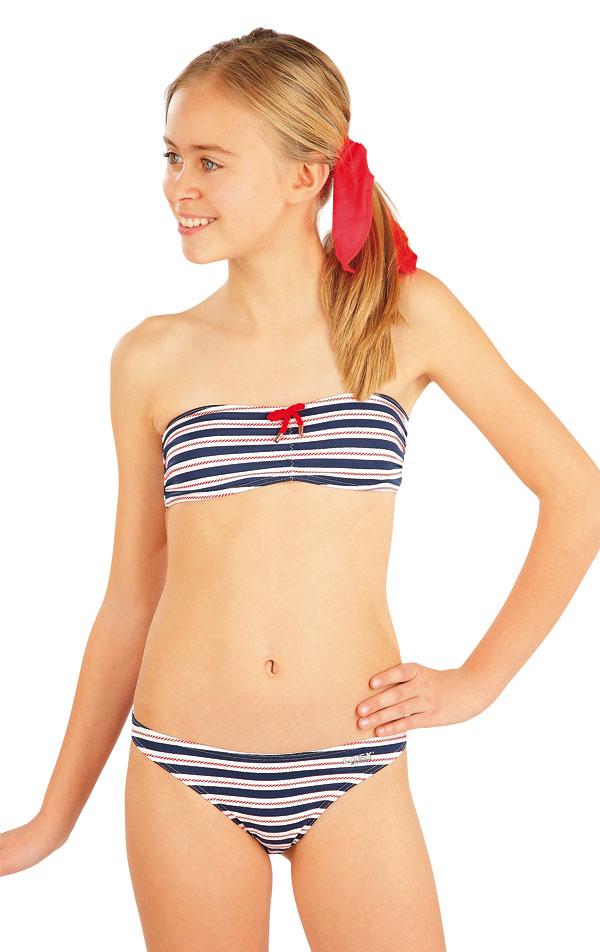 Dievčenská plavková podprsenka BANDEAU. 52583 | Dievčenské plavky LITEX