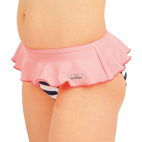 Dievčenské plavkové nohavičky. 52593 | Detské plavky - zľava LITEX
