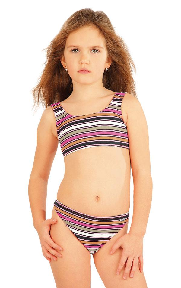 Plavkový top dievčenský. 52605 | Detské plavky - zľava LITEX