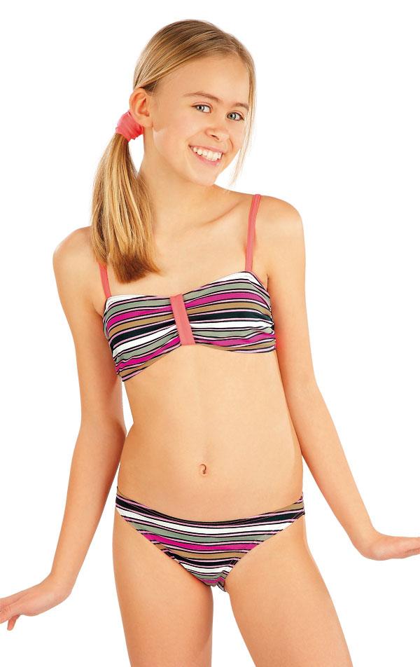 Plavkový top dievčenský. 52609 | Dievčenské plavky LITEX