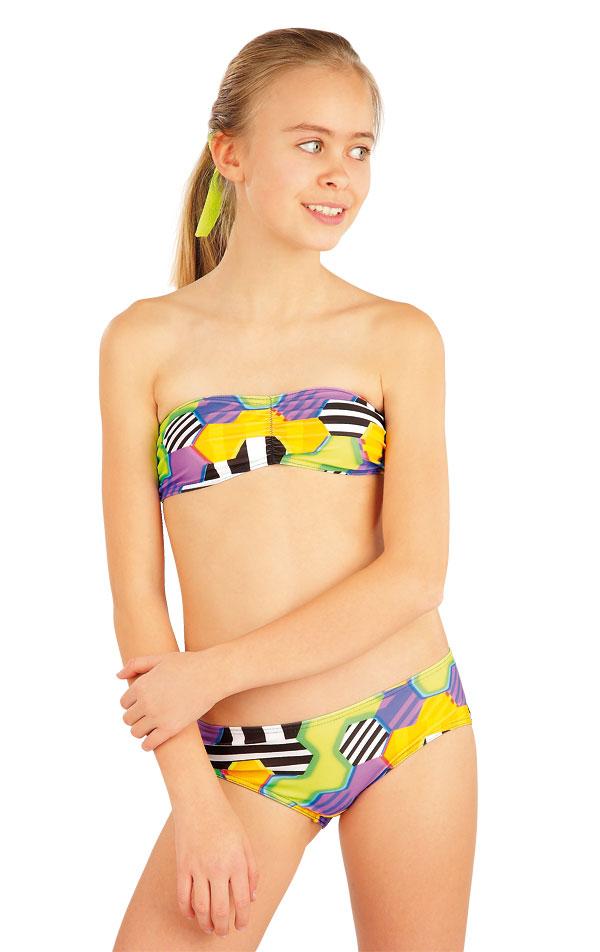 Dievčenská plavková podprsenka BANDEAU. 52617 | Dievčenské plavky LITEX