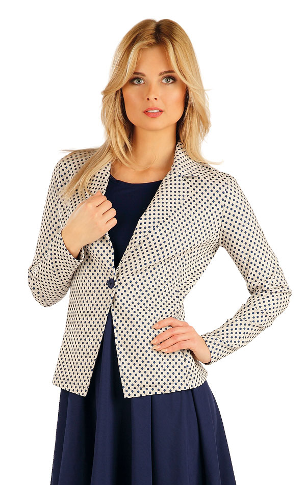 Sako dámske s dlhým rukávom. 54026 | Športové oblečenie -  zľava LITEX