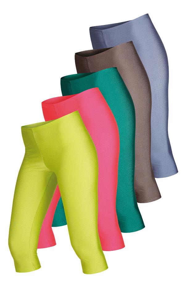 Legíny dámske v 3/4 dĺžke. 54061 | Športové oblečenie -  zľava LITEX