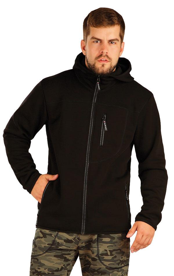Bunda pánska s kapucňou. 54120   Športové oblečenie -  zľava LITEX