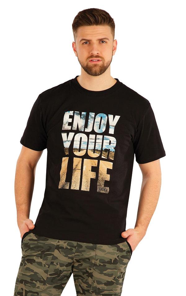 Tričko pánske s krátkym rukávom. 54148 | Športové oblečenie -  zľava LITEX