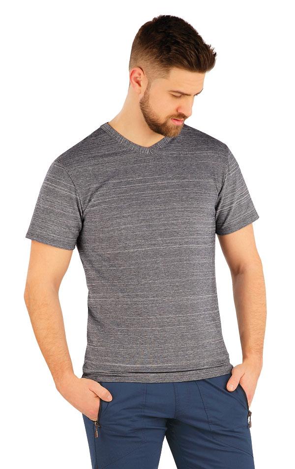 Tričko pánske s krátkym rukávom. 54156 | Športové oblečenie -  zľava LITEX