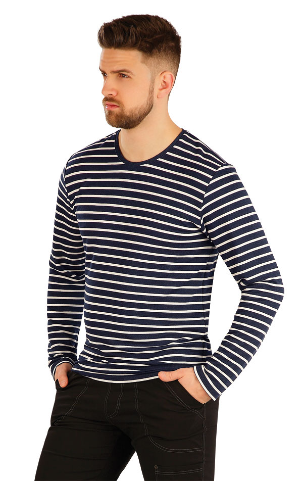 Tričko pánske s dlhým rukávom. 54160 | Športové oblečenie -  zľava LITEX
