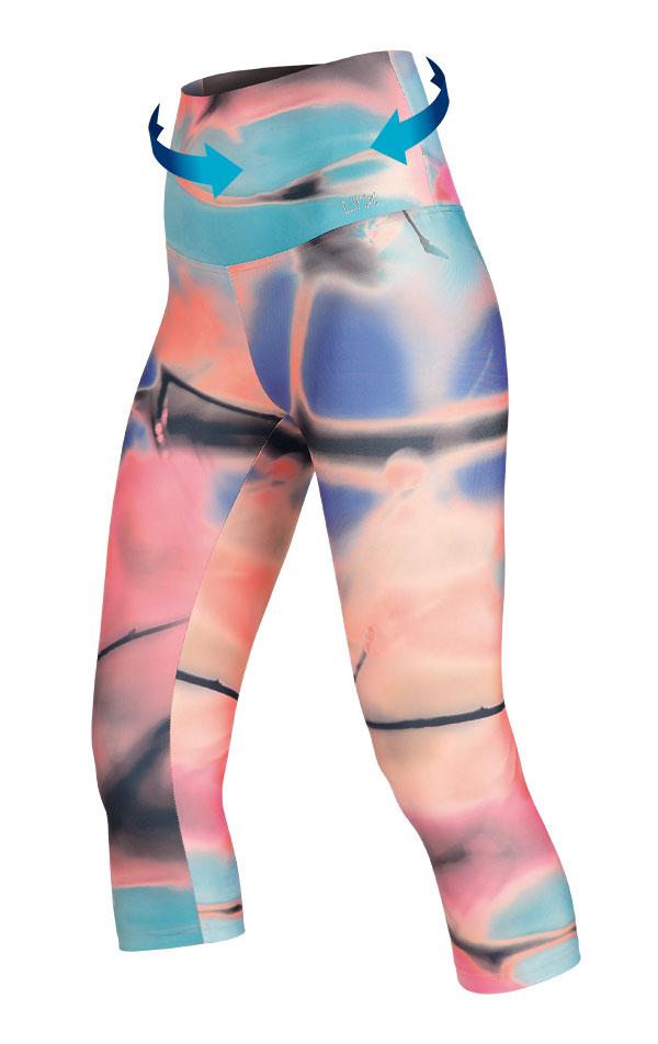 Legíny dámske v 3/4 dĺžke. 54249 | Športové oblečenie -  zľava LITEX