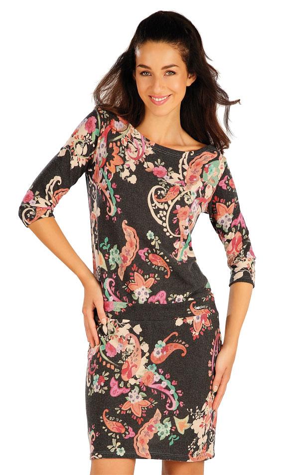 Šaty dámske s dlhým rukávom. 55002 | Športové oblečenie -  zľava LITEX