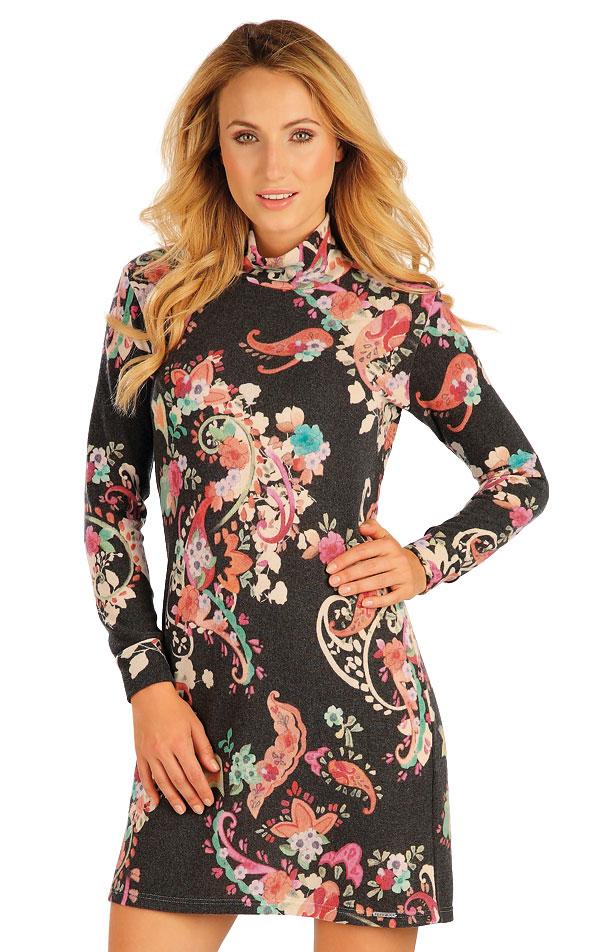 Šaty dámske s dlhým rukávom. 55003 | Športové oblečenie -  zľava LITEX