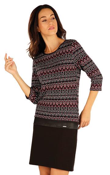 Zľava > Šaty dámske s 3/4 rukávom. 55039