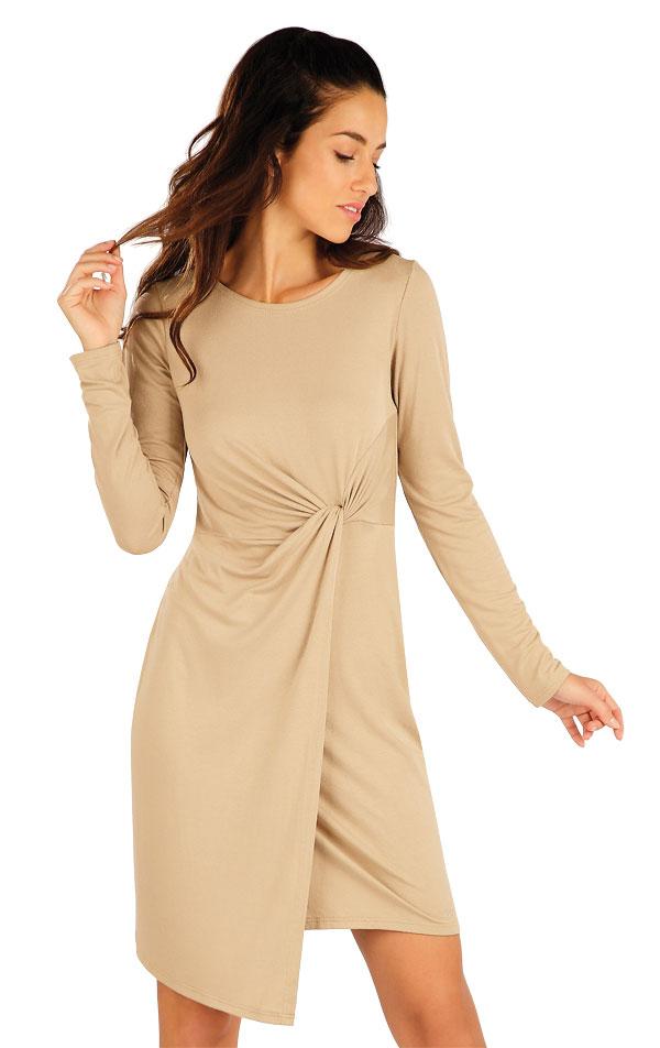 Šaty dámske s dlhým rukávom. 55085 | Šaty a sukne LITEX