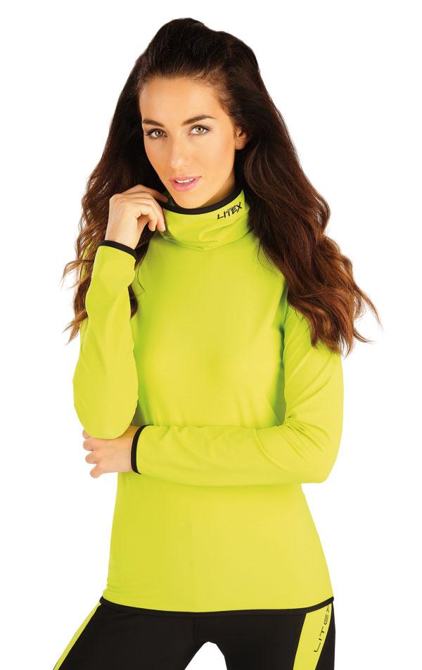 Rolák dámsky s dlhým rukávom. 55127 | Športové oblečenie -  zľava LITEX