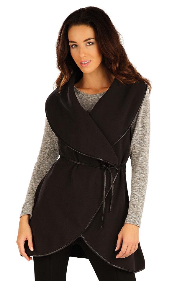 Fleecová vesta dámska dlhá. 55206 | Vesty a bundy LITEX