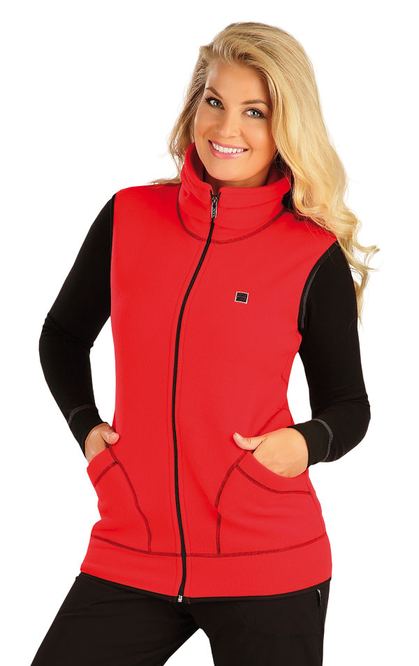 Fleecová vesta dámska. 55214 | Vesty a bundy LITEX