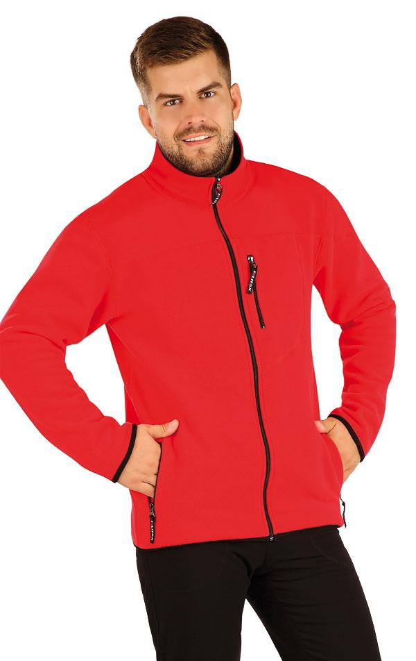 Fleecová mikina pánska na zips. 55215 | Pánske oblečenie LITEX