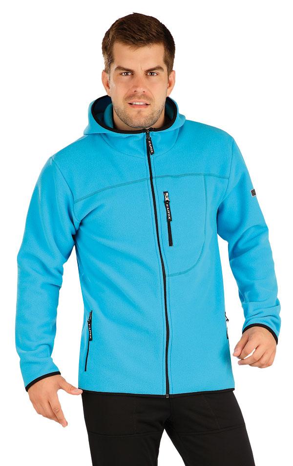 Fleecová mikina pánska s kapucňou. 55229 | Pánske oblečenie LITEX