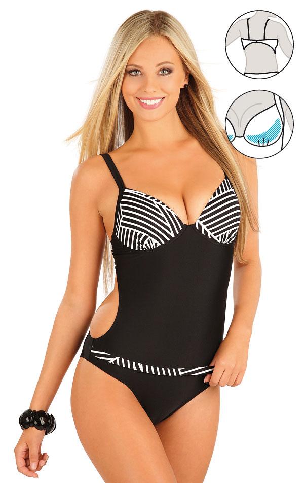 Jednodielne plavky s košíčkami. 57214 | Jednodielne plavky LITEX