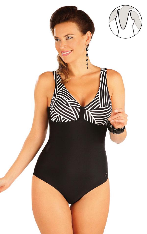 Jednodielne plavky bez výstuže. 57215 | Jednodielne plavky LITEX