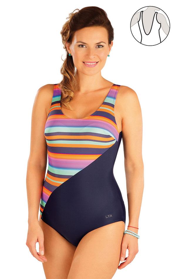 Jednodielne plavky s košíčkami. 57228 | Jednodielne plavky LITEX