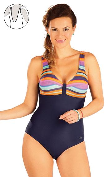 Jednodielne plavky > Jednodielne plavky bez výstuže. 57229