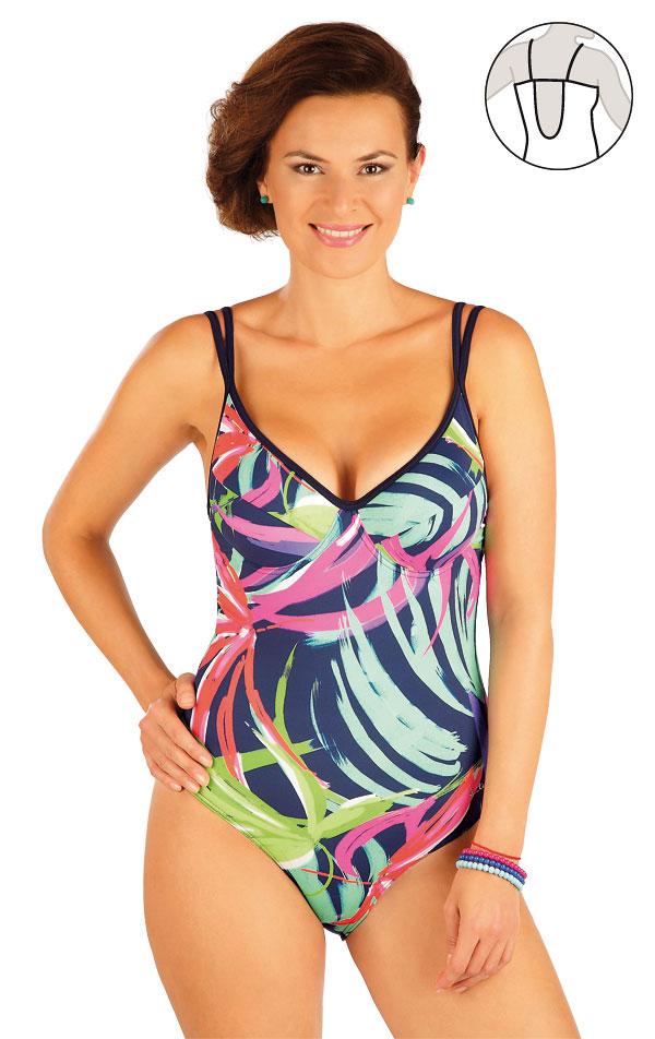 Jednodielne plavky s kosticami. 57240 | Jednodielne plavky LITEX