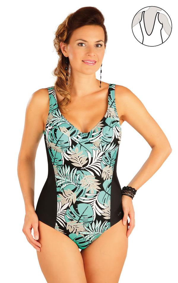 Jednodielne plavky s kosticami. 57364 | Jednodielne plavky LITEX