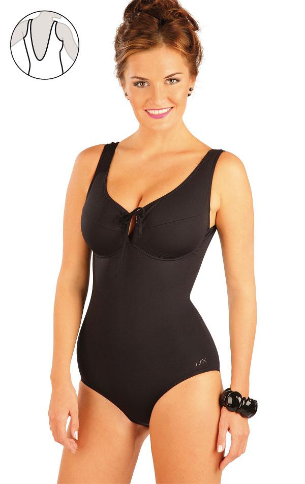 Jednodielne plavky s kosticami. 57440 | Jednodielne plavky LITEX