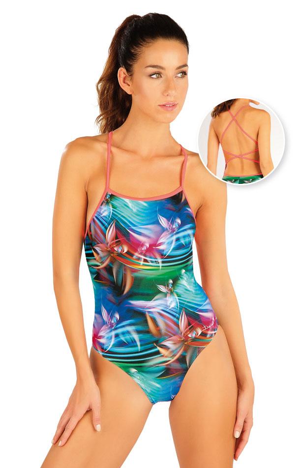 Jednodielne športové plavky. 57460 | Športové plavky LITEX