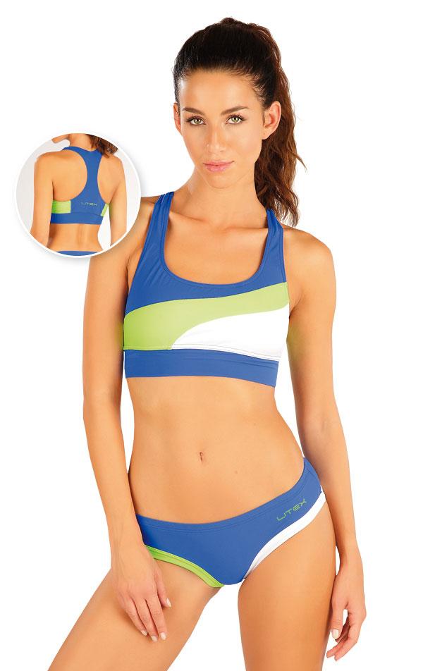 Plavkový športový top bez výstuže. 57474 | Športové plavky LITEX
