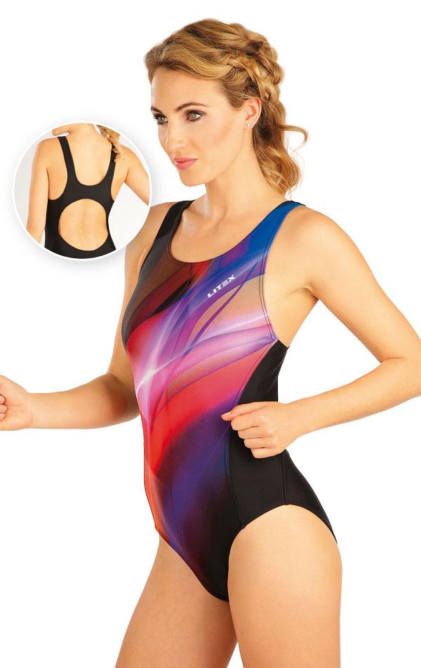 Jednodielne športové plavky. 57480 | Športové plavky LITEX