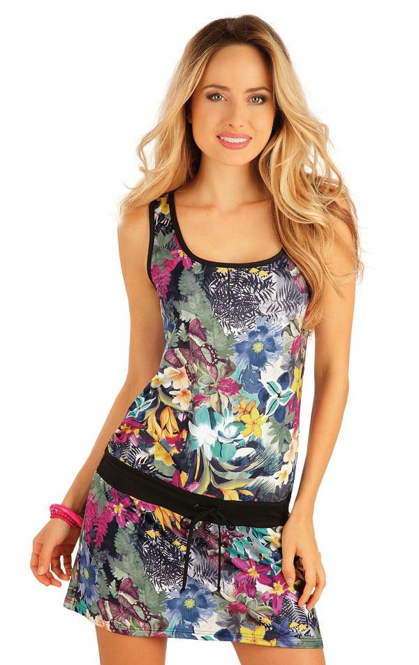 Šaty dámske bez rukávov. 57496   Plážové doplnky LITEX