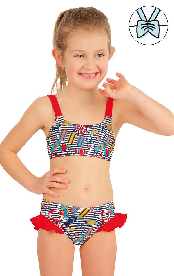Plavkový top dievčenský. 57530 | Dievčenské plavky LITEX