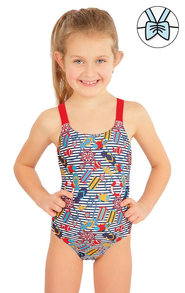 Jednodielne dievčenské plavky. 57532 | Dievčenské plavky LITEX