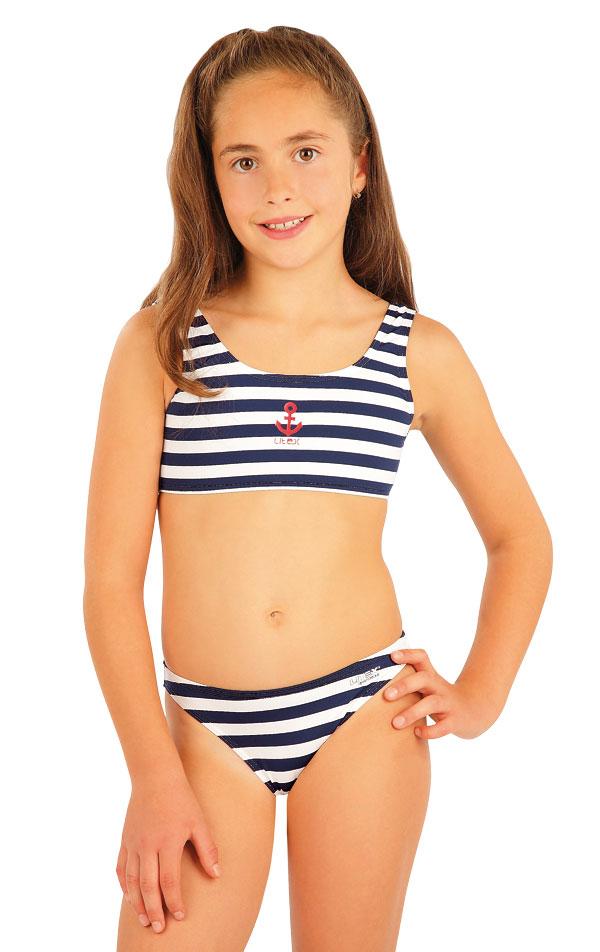 Plavkový top dievčenský. 57535 | Dievčenské plavky LITEX