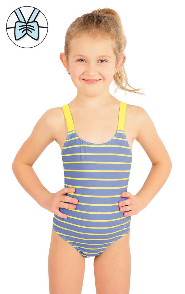 Jednodielne dievčenské plavky. 57542 | Dievčenské plavky LITEX