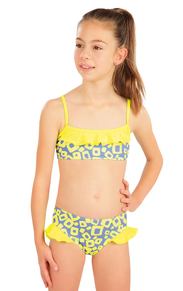 Plavkový top dievčenský. 57543 | Dievčenské plavky LITEX