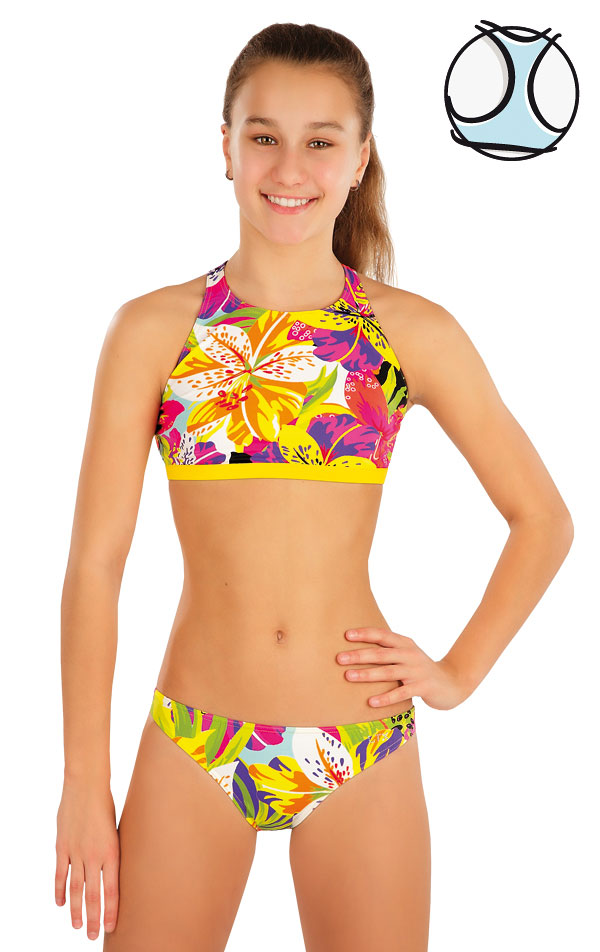Plavkový top dievčenský. 57552 | Dievčenské plavky LITEX