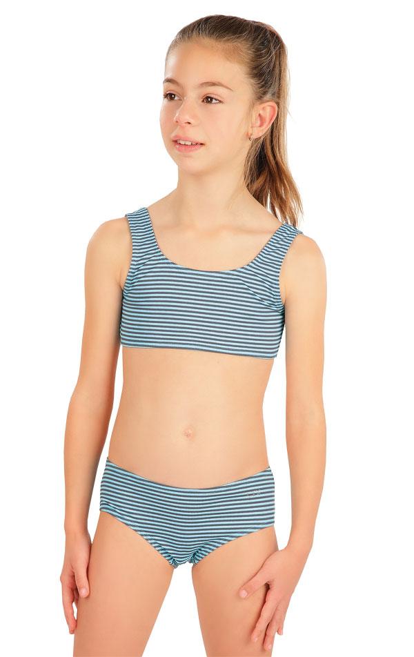 Plavkový top dievčenský. 57556 | Dievčenské plavky LITEX