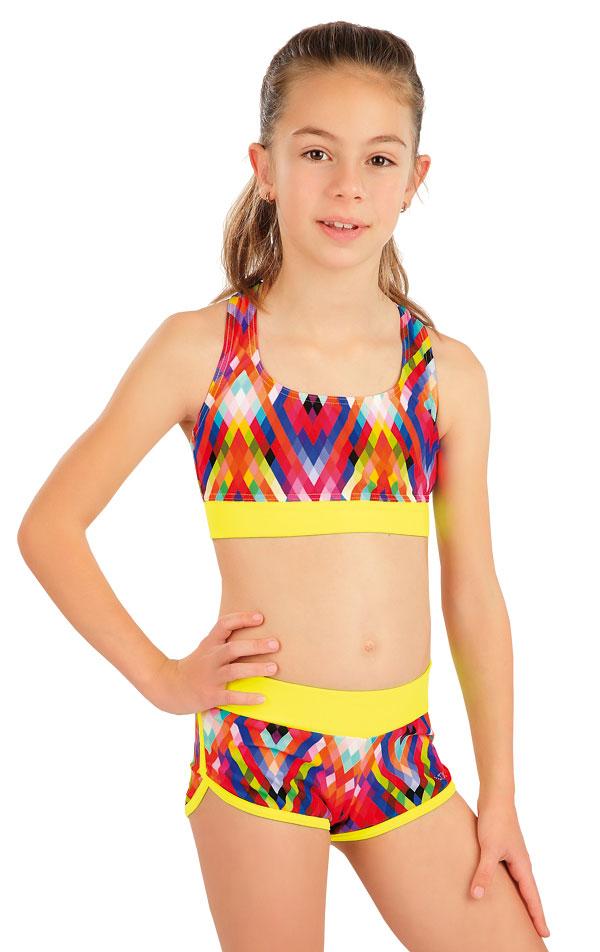 Plavkový top dievčenský. 57565 | Dievčenské plavky LITEX