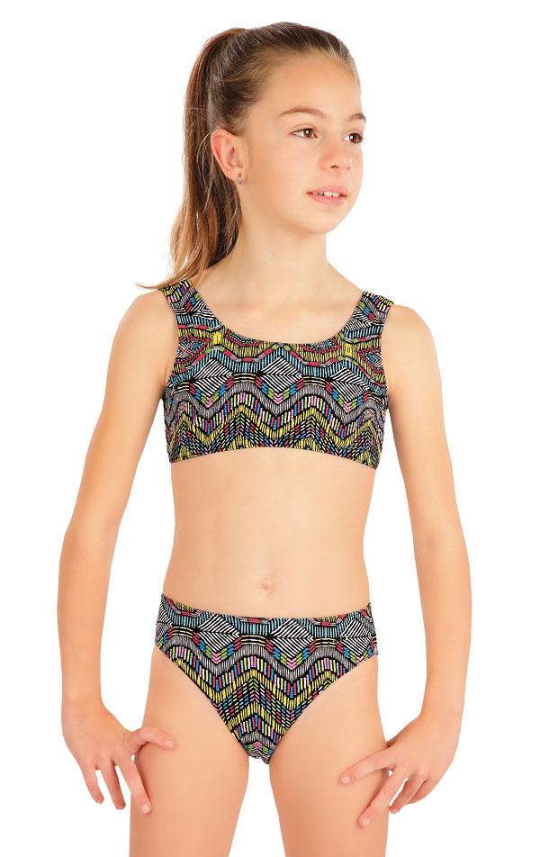 Plavkový top dievčenský. 57575 | Dievčenské plavky LITEX