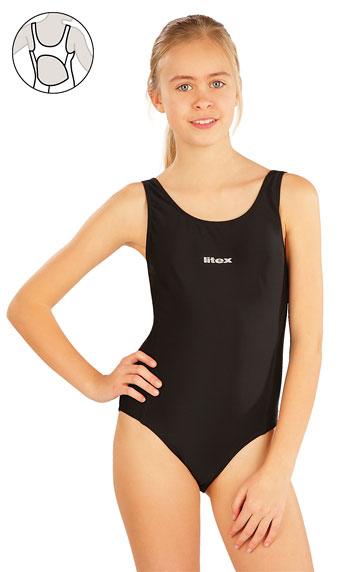 Plavky > Dievčenské jednodielne športové plavky. 57593