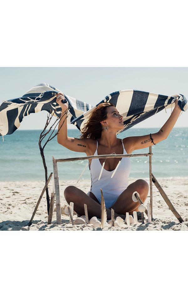 Plážová osuška/deka Futah. 57740 | Župany a uteráky LITEX