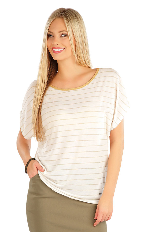 Tričko dámske s krátkym rukávom. 58014 | Tričká, topy, tielka LITEX