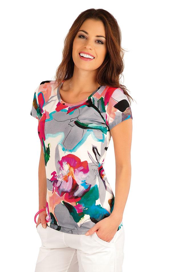Tričko dámske s krátkym rukávom. 58016 | Tričká, topy, tielka LITEX