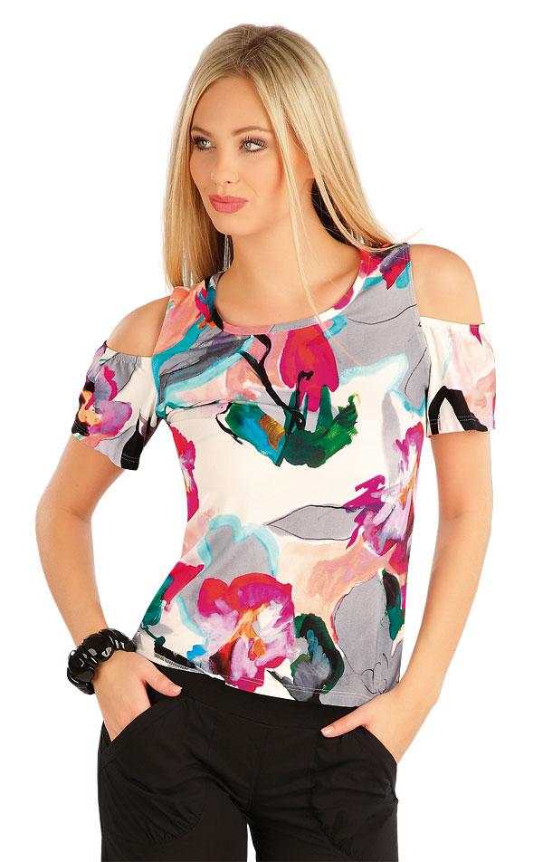 Tričko dámske s krátkym rukávom. 58017 | Športové oblečenie -  zľava LITEX