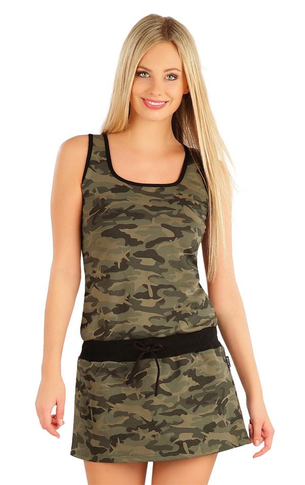 Šaty dámske bez rukávov. 58023 | Šaty a sukne LITEX