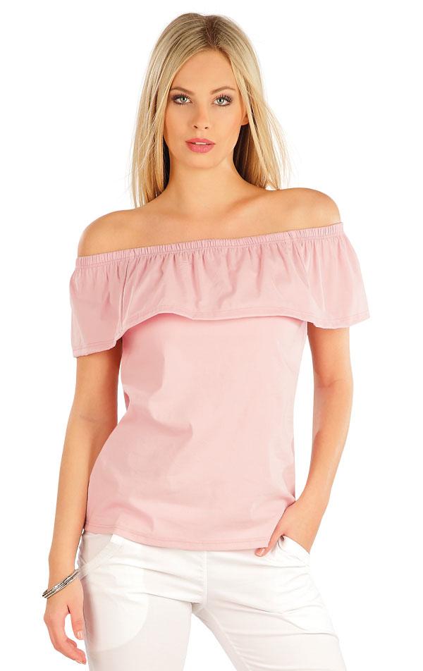 Tričko dámske s volánom. 58035 | Tričká, topy, tielka LITEX